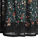 Floral Pleated Skirt image