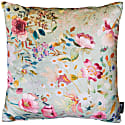 English Garden 'Pistachio & Peacock' Velvet Cushion image