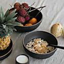 Muji Ceramic Salad Serving Bowl  - Dove Green image
