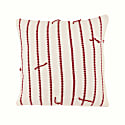 Boo Cushion In Russet Stripe image