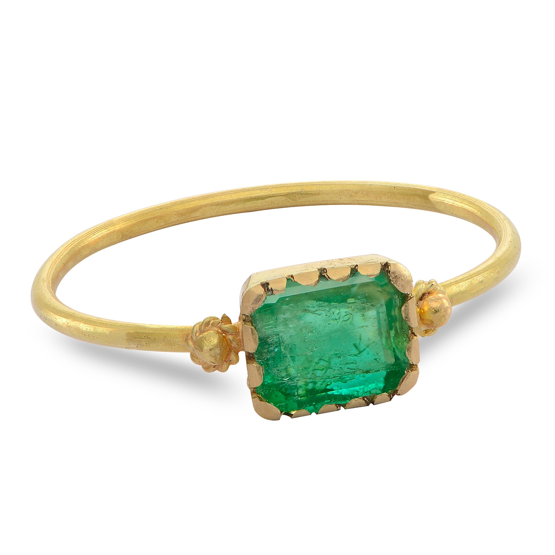 Emma Chapman Jewels - Grecian Gold Emerald Ring