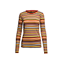 Stretch Long Sleeve Stripe Top image