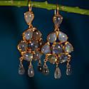 Coachella Labradorite Chandelier Earrings image