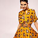 Satin Effect A - Line Dress image