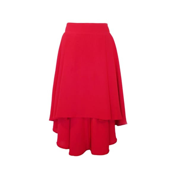 LAUREN LYNN LONDON The Alice Skirt Asymmetrical