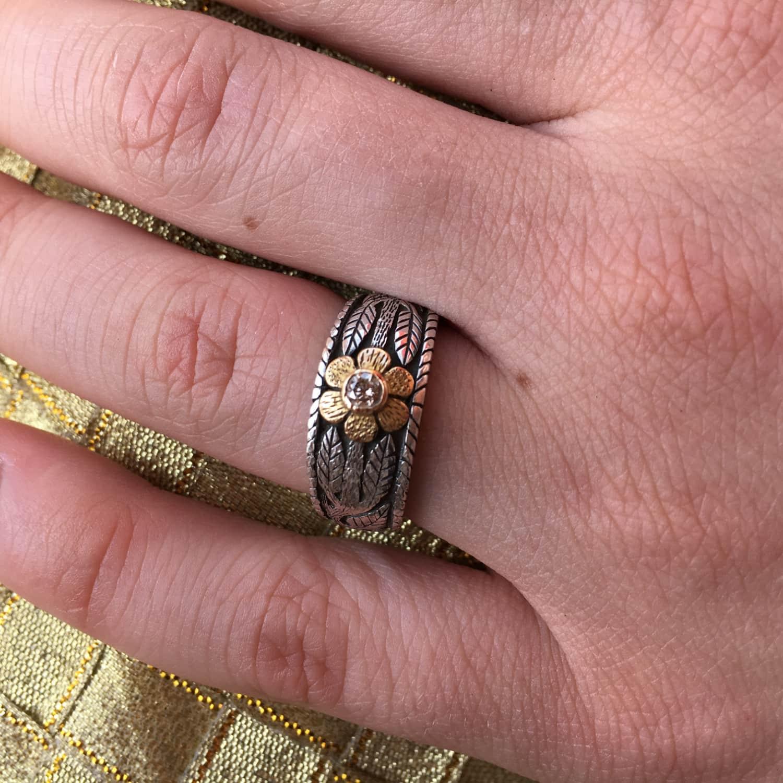 Enchantment Diamond Ring | Emma Chapman Jewels | Wolf & Badger