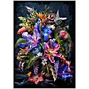 Hope Botanical Floral Bouquet A1 Fine Art Print image