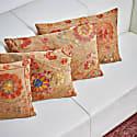 Pyramid Khufu Suzani Ancient Heritage Design Cushion image