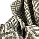 Green Ethnic Premium Baby Alpaca Throw image