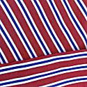 Men's Red York Stripe Crisp Cotton Pyjama Trousers image