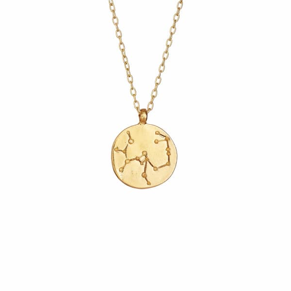 CHUPI Sagittarius We Are All Made Of Stars Star Sign Necklace In Gold