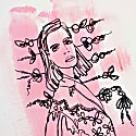 Simone Limited Edition Hand Finished Screen Print image