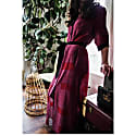 Feel The Love Silk Maxi Dress image