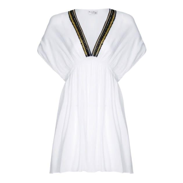 3b196b4728a Lagoon Dress Aqua · NOOKI DESIGN. £55. + Add to Wishlist