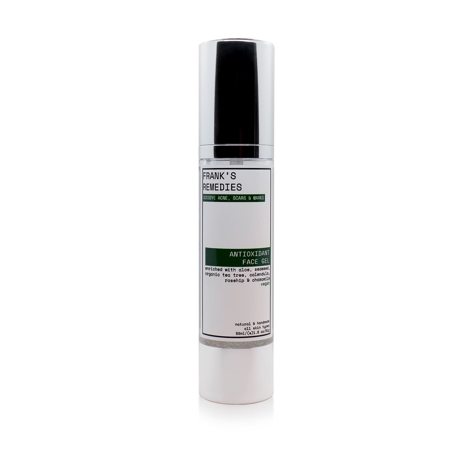 Antioxidant Face Gel | FRANK\'S REMEDIES | Wolf & Badger