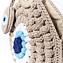 Round Evil Eye Crochet Bag image