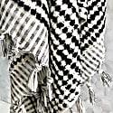 Monochrome Bobble Hammam Towel image