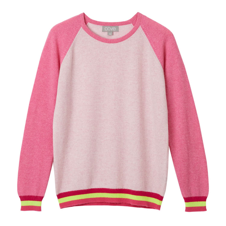 9b71604c21 Carmen Pink Cashmere Jumper | Cove | Wolf & Badger