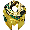 Square Scarf In Gothic Floral Ochre Print image
