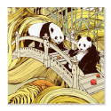 Panda Pocket Square image