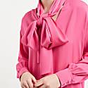 Sapphire Silk Bow Dress Pink  image