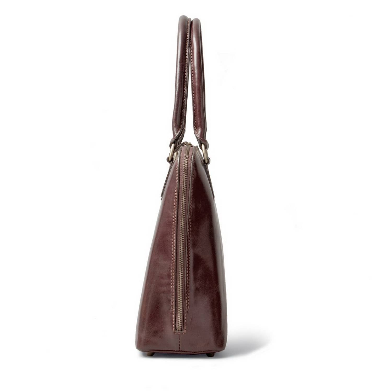 Luxury Italian Leather Women\'s Work Tote Bag Fiorella Chocolate ...