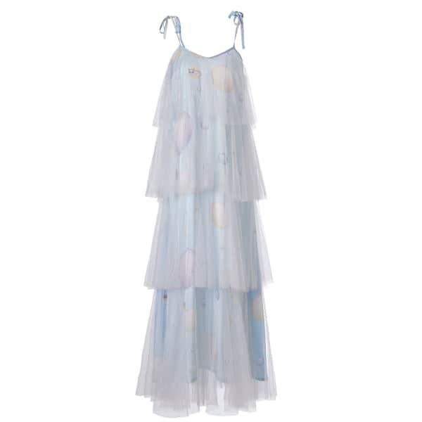 SUPERSWEET X MOUMI Binkie Dress Sky Tulle