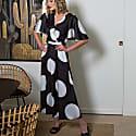 Denise Dress In Silky Viscose image