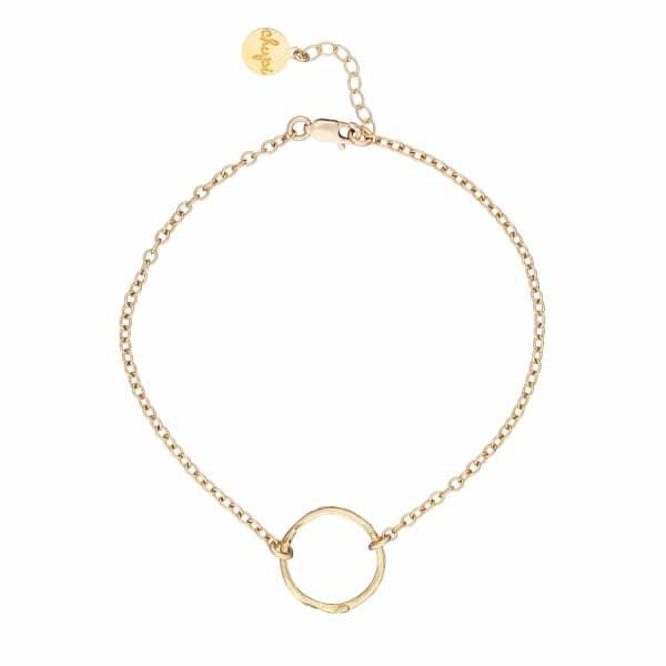 CHUPI Hawthorn Twig Infinity Bracelet in Gold