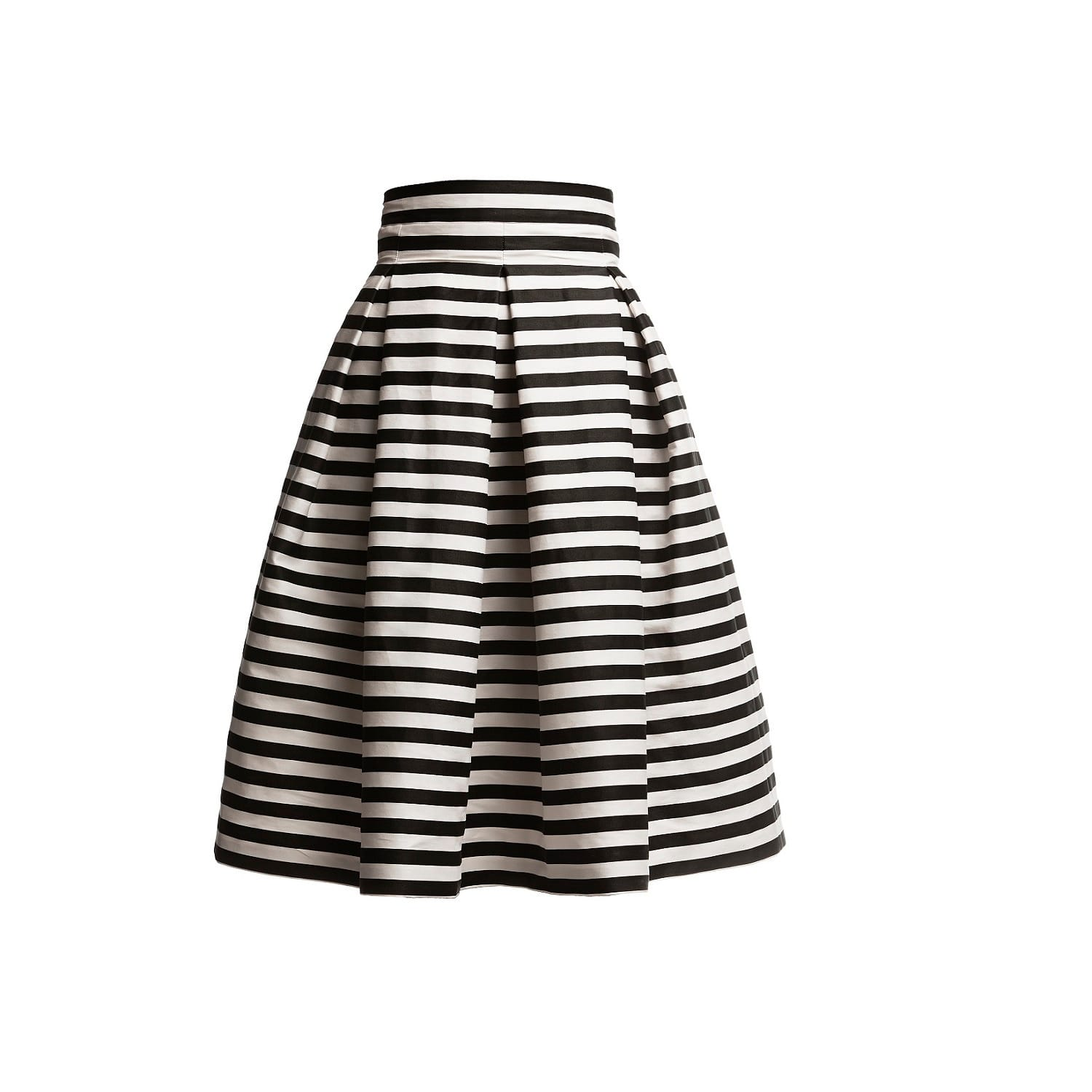 64991eddfc1f10 Black And White Striped Mini Skirt Outfits – DACC