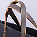 Extra Large Tote Style Duffle In Charcoal Black image