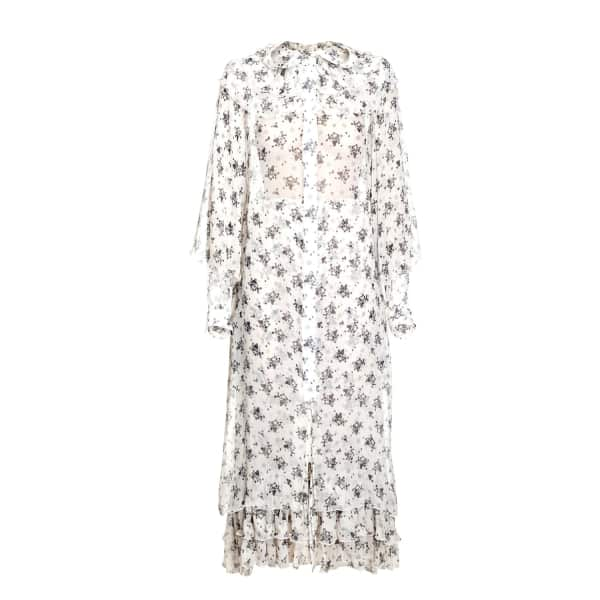 JIRI KALFAR White Flower Dress