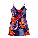 Glitter Goldfish Short Slip Dress image