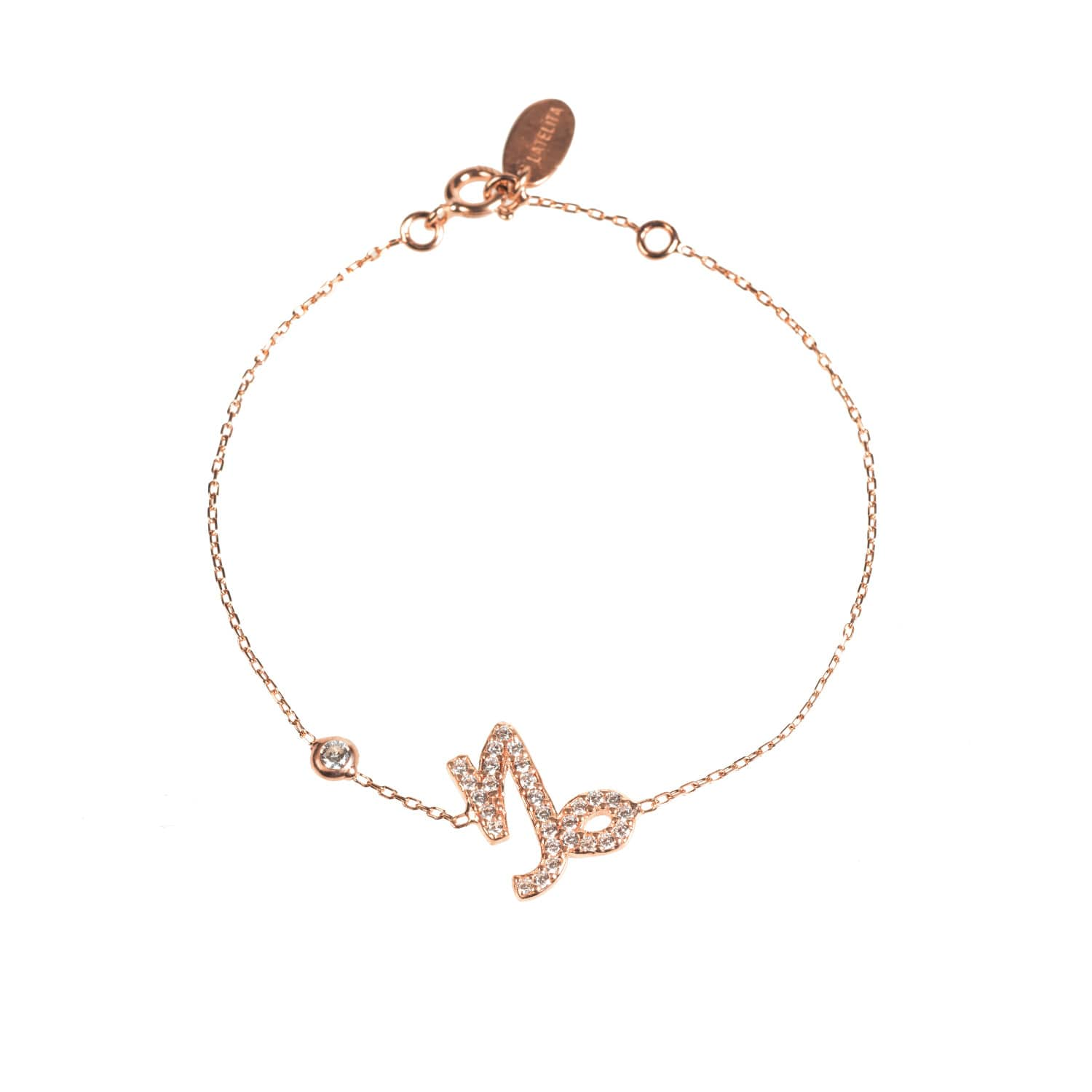 Latelita London Capricorn Zodiac Bracelet Rose Gold ye7uPhUK