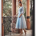 Blue Jasmin Cocktail Dress image