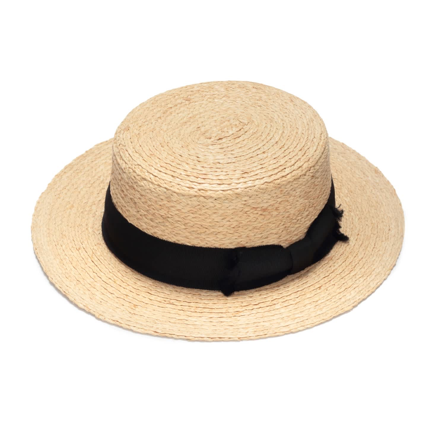5db1ae4968e24 Classic Boater Straw Hat image
