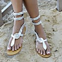 Cobra Sandals Silver image