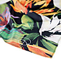 Floral Bouquet Silk Twill Long Scarf image