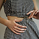 Xperimential 2 In1 Maxi Dress Gingham image