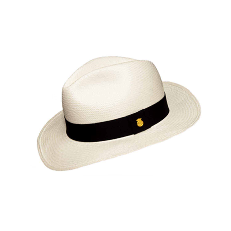 d686a93d7a343d Fedora Genuine Panama Hat Classic | La Marqueza Hats | Wolf & Badger