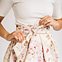 Wrap Skirt No. 903 Roses image