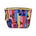 Vegan Classic Make Up Bag: Circus Stripe With Gift Box image