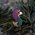 Amathea Enamel Pin Lilac image
