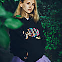 Wild Soul Organic Cotton Hoodie In Black image