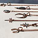 Diamond Lucky Horseshoe Necklace Rosegold image