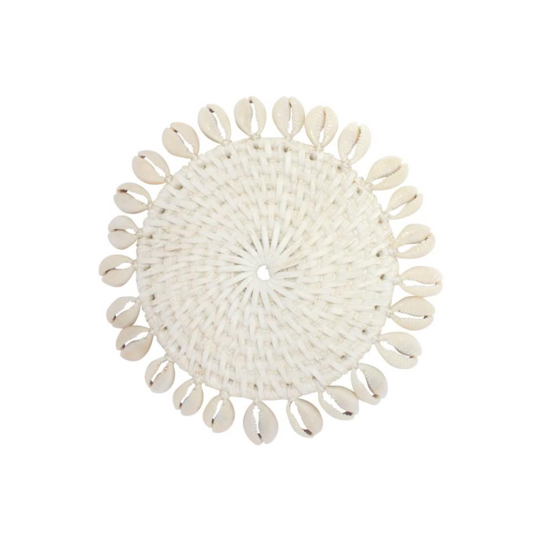 Wondrous Elgin Coaster White Set Of 4 By Uma Cantik Machost Co Dining Chair Design Ideas Machostcouk