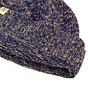 Denim Melange Wool & Cashmere Fisherman Beanie image