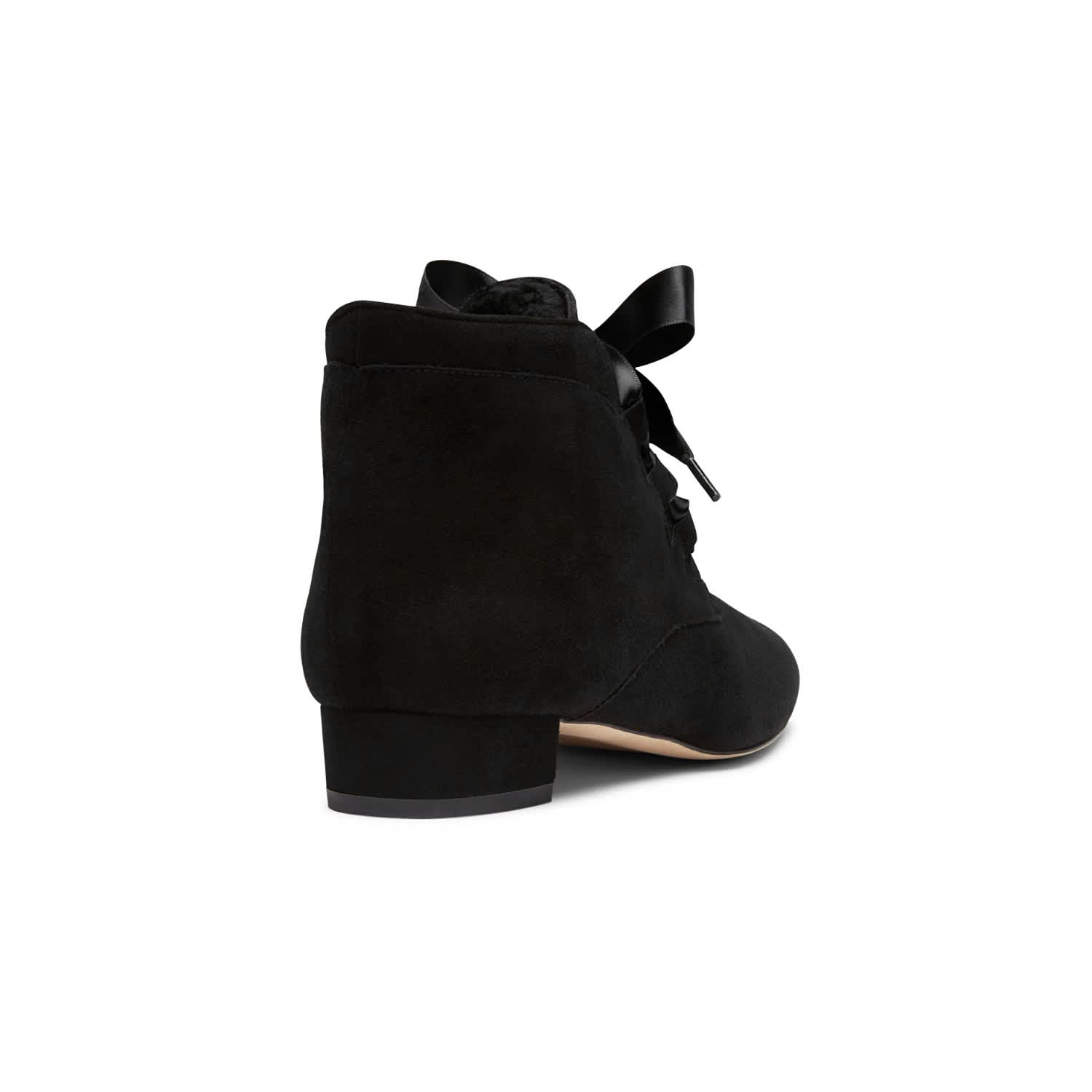 Raya Black Suede Ankle Boots | Alexis