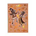 Dancing Mice - Copper Foil A3 Art Print image
