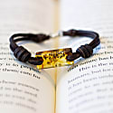 Aeon Bracelet - Honey Baltic Amber & American Bison image